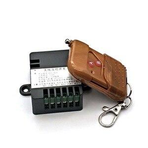Image 2 - 2 Ch אלחוטי ממסר RF שלט רחוק מתג DC 12V 220V 10A 315MHz חכם בית אבוכי מקלט למעלה איכות (אין סוללות)