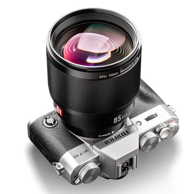 VILTROX 85 مللي متر F1.8 STM X mount عدسات تركيز ثابت AF صورة عدسة الإطار الكامل السيارات التركيز رئيس عدسة لكاميرات فوجي X جبل
