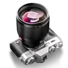 VILTROX 85MM F1.8 STM X 마운트 고정 초점 렌즈 AF 세로 렌즈 후지 X 마운트 카메라 용 전체 프레임 자동 초점 프라임 렌즈