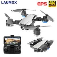 "LAUMOX G11 GPS RC Drone 4K HD מצלמה אופטי זרימת WIFI FPV 50 פעמים זום RC Quadcopter בצע לי מתקפל מקצועי מל ""טים-ברחפני צילום מתוך מוצרי אלקטרוניקה לצרכנים באתר"