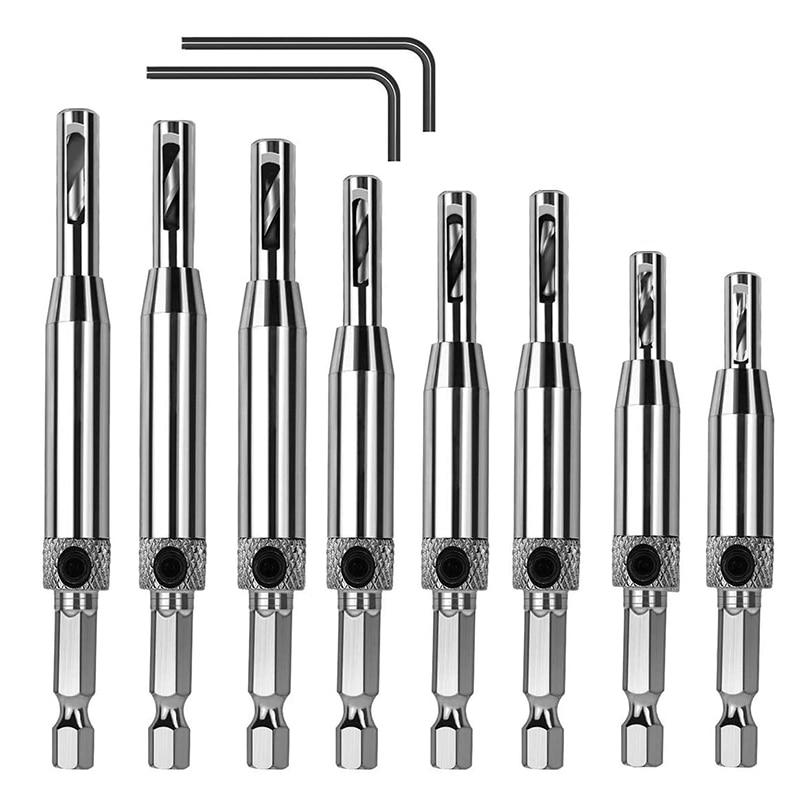 10 шт. набор сверл Для петель из быстрорежущей стали