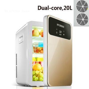 20L Mini Refrigerator Small Home Car Student Dormitory Dormitory Room Rental Freezing
