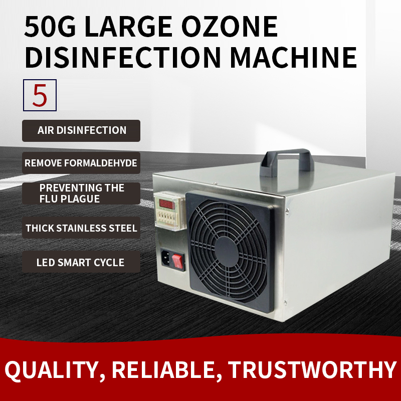 50g Ozone Generator School Air Sterilizer Food Sterilization Farm Environmental Treatment Pigsty Ammonia Removal