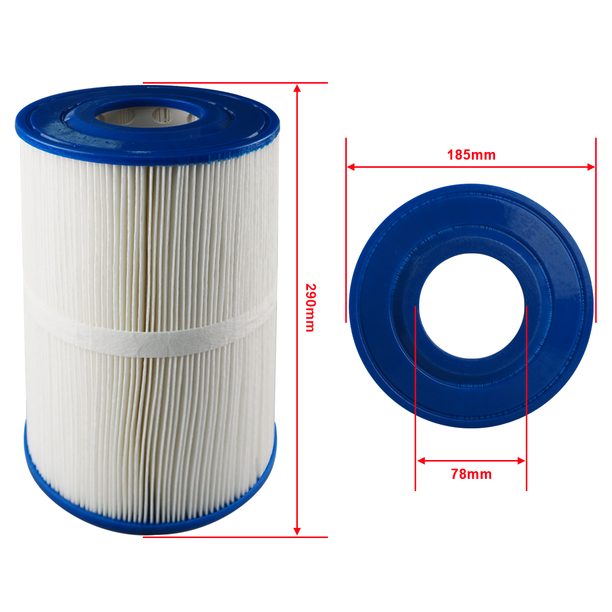 out spa tub cartridge filter for Monalisa Jazzi spa Hayvabo swimspa hot tub filter 290 x