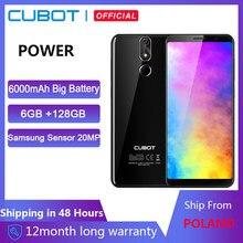 Cubot-Teléfono móvil inteligente Helio P23 con Android 8.1, smartphone con pantalla FHD de 5.99