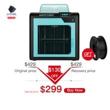 ANYCUBIC 3d принтер 4Max Pro/4Max большой плюс размер FDM Impresora Diy комплект модульный дизайн сопла 3d принтер пластик подарок на день рождения