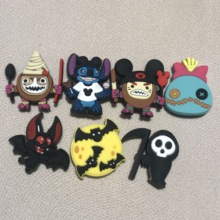 Shoe-Accessories Garden-Shoes Anime Decoration Girls Kids Cartoon Charm for 7pcs Cosplay-Game