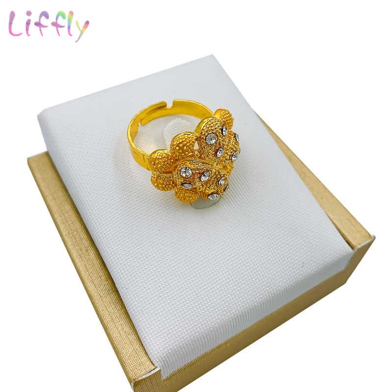 แฟชั่น Charm แอฟริกันเจ้าสาวต่างหูแหวน DROP เครื่องประดับชุดคลาสสิกงานแต่งงานดูไบสร้อยคอสร้อยข้อมือชุดเครื่องประดับ