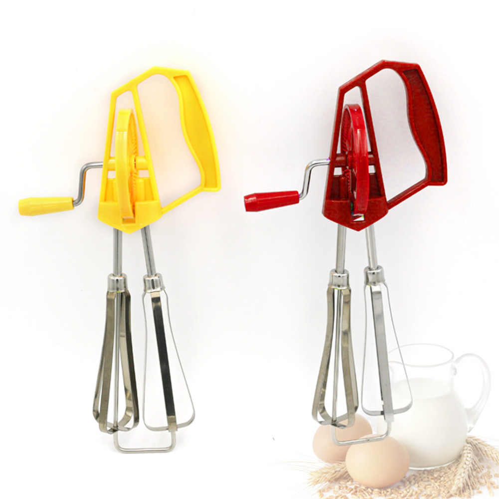 Инструмент для приготовления пищи ручной венчик блендер для яиц смеситель из нержавеющей стали легко чистить ручной Поворотный кухонный здоровый портативный перемешивание