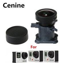 Go Pro 4 12Mp 150 stopni Ir obiektyw dla Gopro Hero 4 3 3 + akcesoria do kamer w ruchu bardzo szeroki kąt wymienna soczewka szklana zestaw