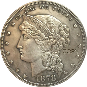 1878 United States $1 Dollar coins COPY Type 4(China)