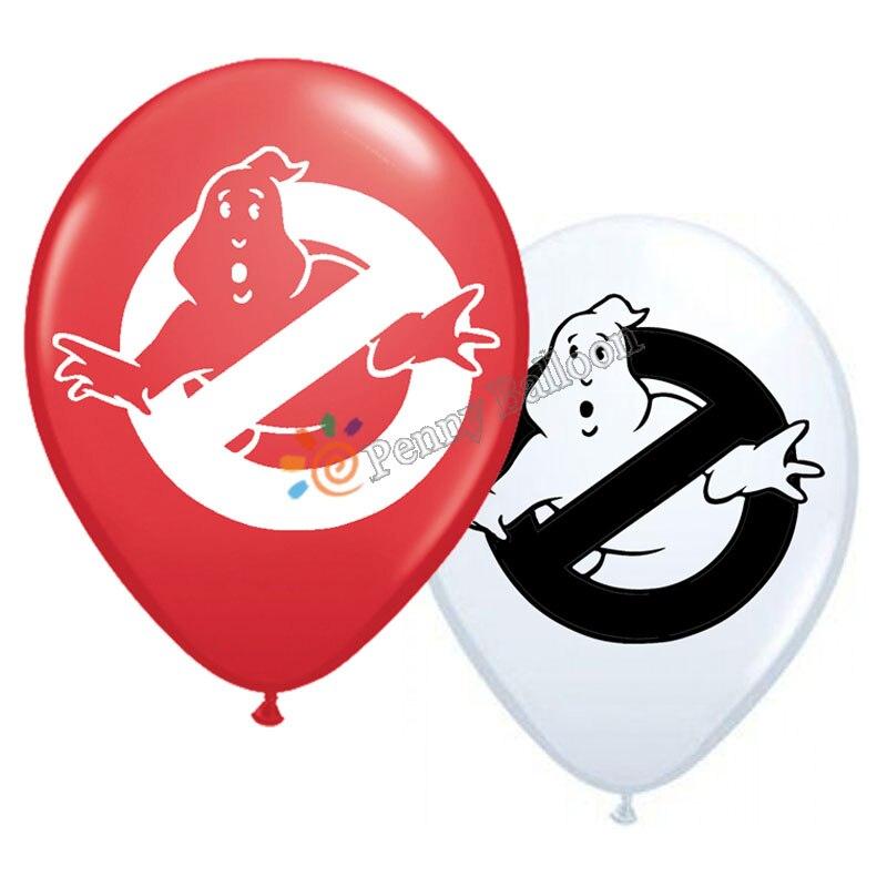 12 шт./лот Ghostbuster шар видеоигры вечерние принадлежности для дня рождения вечерние украшения игрушки для детей Globos
