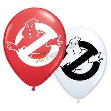 12 pçs/lote Ghostbuster Balão Fontes Do Partido de Aniversário Decorações Do Partido Brinquedos Do Jogo de Vídeo Para Crianças Globos