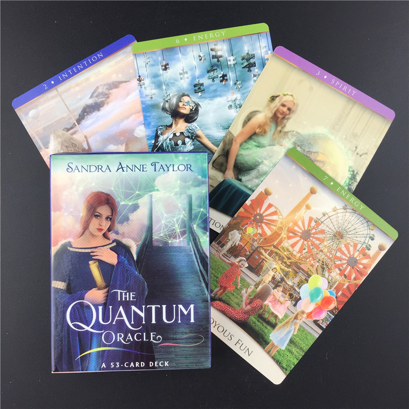 The Quantum Oracle Tarot Cards Uidance Divination Fate Tarot Deck Board Games English For Family Party Playing Game PDF