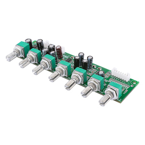 Image 3 - AIYIMA 5,1 Verstärker Vorverstärker Ton Board Preamp 6 Kanal Bass Frequenz Volumen Unabhängige Einstellung Für 5,1 Heimkino