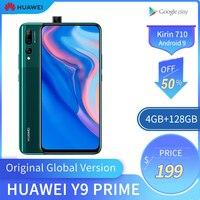 HUAWEI Original de Y9 primer teléfono móvil 4G RAM 128GB ROM Kirin710 Smartphone Pantalla de 6 59 pulgadas teléfono móvil soporte Google Play teléfono