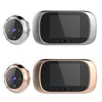 """2.8 """"초인종 스마트 비주얼 고양이 눈 전자 고양이 눈 문 거울 홈 보안 경보 시스템에 대 한 사진 복용 기능 도어벨 보안 & 보호 -"""