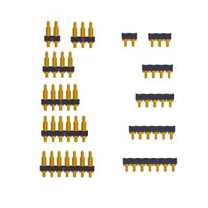 5 шт. штырьковый разъем Mate 2,54 мм Шаг 2 3 4 5 6 7 позиций через отверстие печатной платы