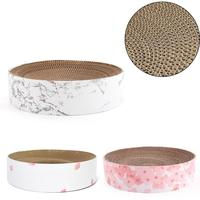 Cat Toy Large Bowl Shaped Cat Bed Cat Sofa Customized Corrugated Paper Cat Scratch Board Pet Supplies