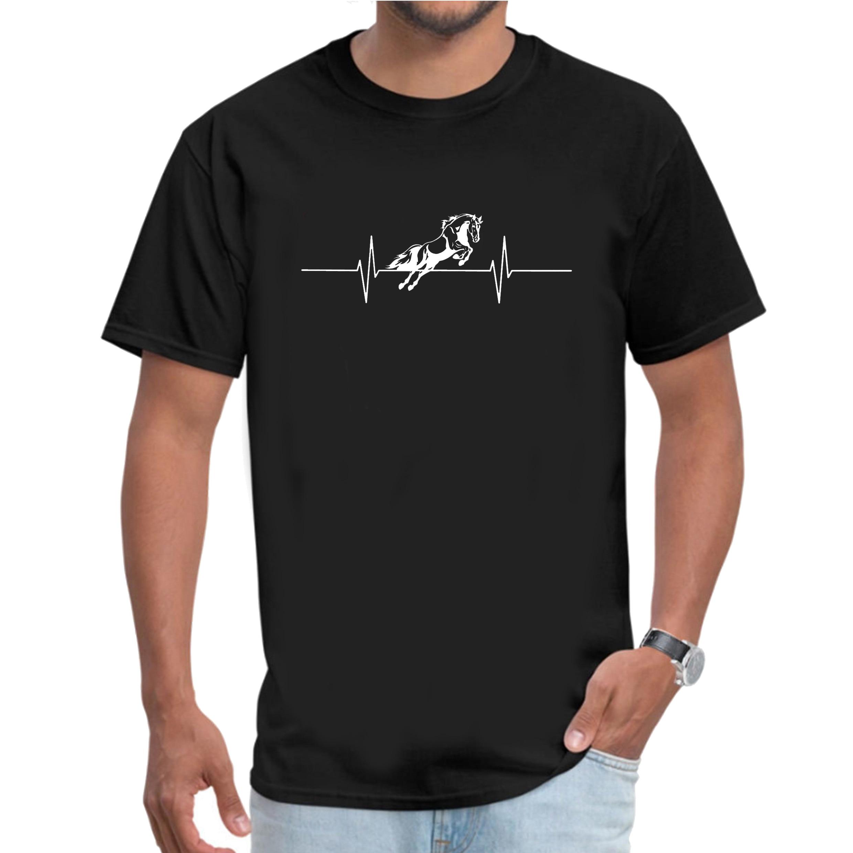 Horse heartbeat men/'s t-shirt