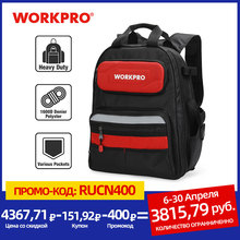 Organizer Bag Backpack New-Tool-Bag WORKPRO Man 60-Pocket Multifunctional Waterproof