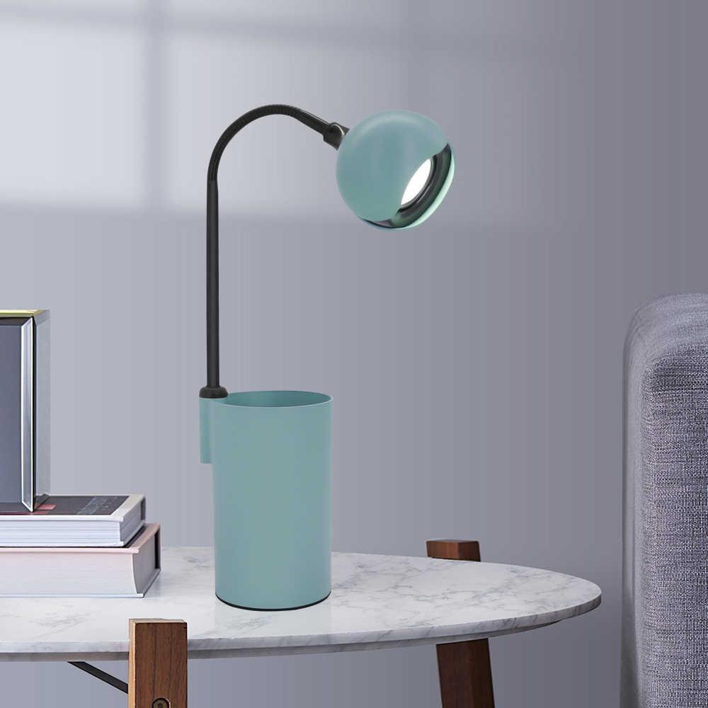 3w Led Desk Lamp Eye Caring With Turn On Off Button Table Lamp Portable Desk Light For Children Kids Reading Bedside Bedroom Desk Lamps Aliexpress