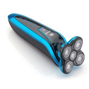 Image 4 - JINDING máquina de afeitar eléctrica recargable para todo el cuerpo, afeitadora con cabeza flotante 5D para hombre, Afeitadora eléctrica resistente al agua D40
