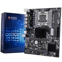 HOT HUANANZHI X58 RX3.0 V110 Motherboard X58 for Intel LGA 1366 X5650 X5675 DDR3 1066/1333MHz 16GB PCI E SATA2.0 USB3.0 M ATX