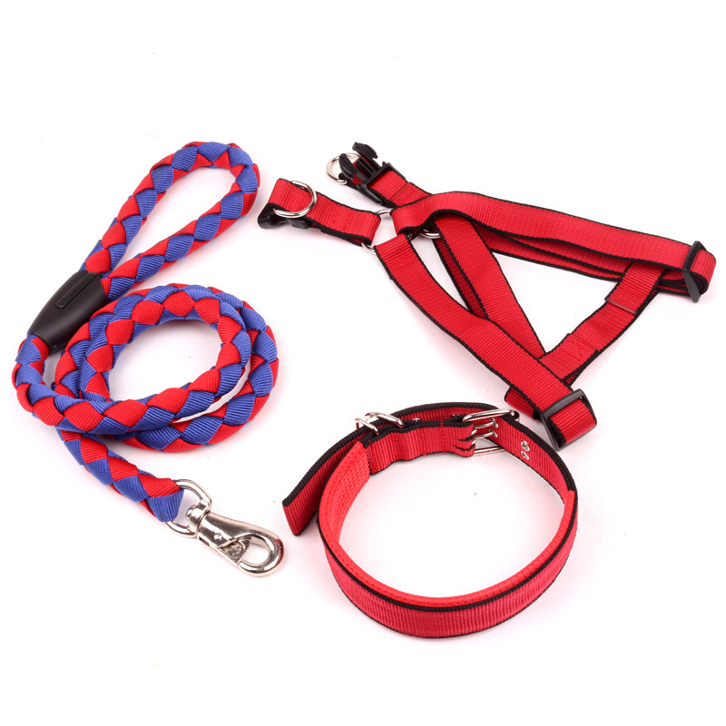 Dog Chain Dog Hand Holding Rope Small Suspender Strap Large Dog Thoracic Medium Teddy Chinlon Dog Rope Unscalable