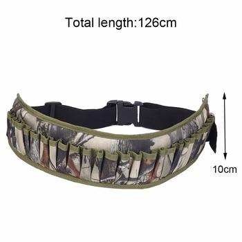 Tactical 15/25/28 Rounds Ammo Shell Holder Belt 12/20 Gauge Ammo Pouch Shot Gun Shell Bandolier Waist Bullet Cartridges Holster 4