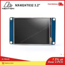 "Nextion NX4024T032   3.2 ""HMI אינטליגנטי מגע תצוגת USART TFT LCD מודול Resistive מגע תצוגת TTL סידורי 5V ממשק"