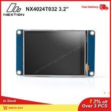 "Nextion NX4024T032   3.2 ""HMI ذكي شاشة تعمل باللمس USART TFT وحدة LCD مقاوم شاشة تعمل باللمس TTL المسلسل 5 فولت واجهة"