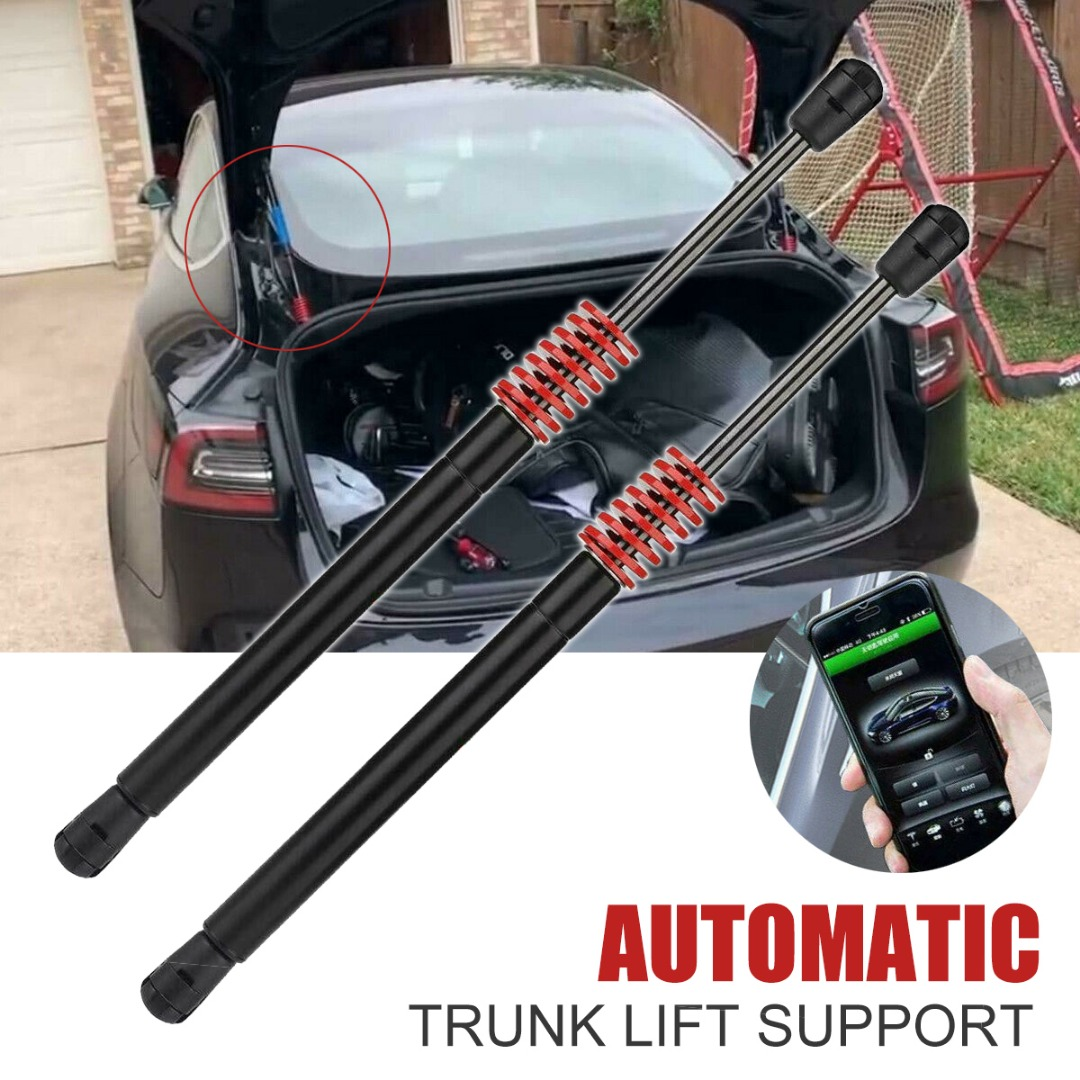 Automatic Front Engine Lift Support Pneumatic Rear Trunk Strut For Tesla Model 3