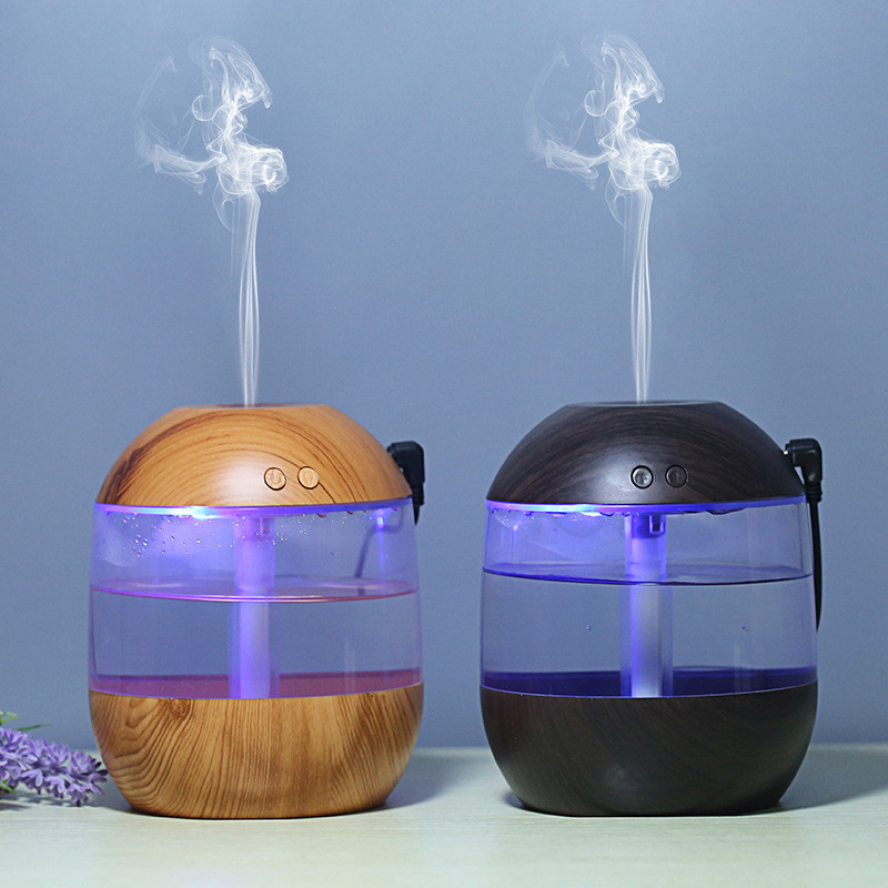 700ML Aroma Essential Oil Diffuser USB Air Humidifier wood aromatherapy Ultrasonic humidificador for Bedroom Office Sleep Spa