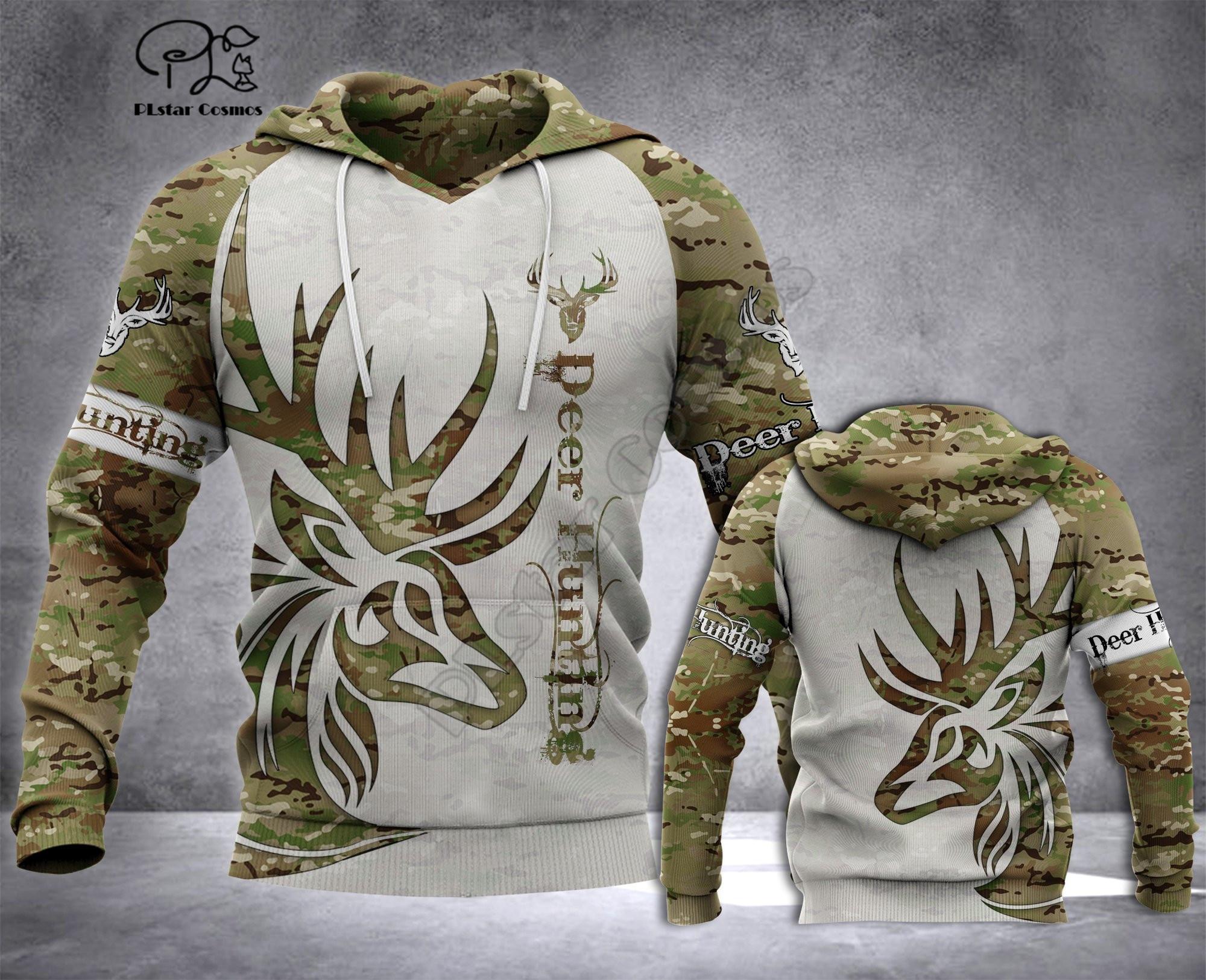 Veados caça camo hoodies 3d impresso amor cavalo moletom com capuz harajuku outono streetwear feminino inimigo masculino casual agasalho
