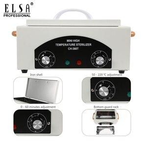 Image 3 - High Temperature Sterilizer Box Nail Art Salon Portable Sterilizing Tool Manicure Tool Dry Heat Sterilizer In RU Warehouse
