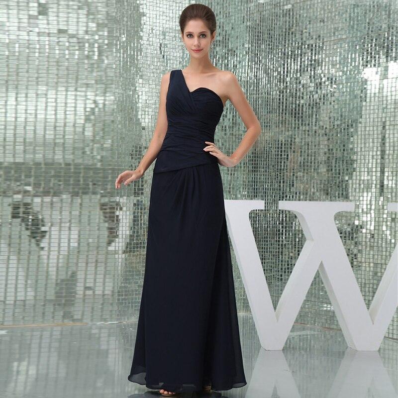 Ever Pretty Prom Dresses One-Shoulder Sleeveless Empire Floor-Length Elegant Sexy Party Gowns 2020 Vestidos De Fiesta De Noche