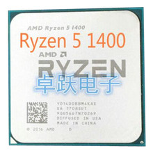 AMD Ryzen 5 1400 R5 1400 3.2 GHz Quad Core CPU Processor Socket AM4 free shipping