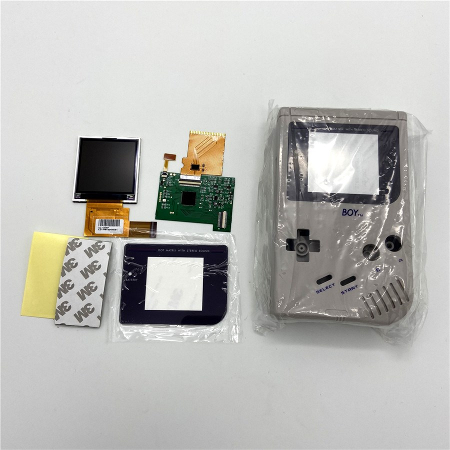 DMG GB High Brightness LCD And New Shell For Gameboy GB,GB LCD Screen