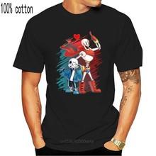 Jeu Undertale T-Shirt manches courtes Undertale sans et papyrus Undertale T petit haut t-shirts adolescents chemise anime vêtements