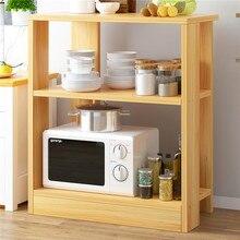 Кухонная полка для специй, полка для микроволновой печи, стеллаж для хранения, дырочка, многослойная полка для духовки