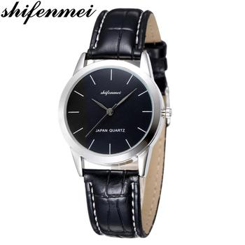 Shifenmei Women's Watches 2020 Luxury Brand Fashion Leather Wrist Watch Ladies Thin Quartz Clock Waterproof Relogio Feminino shifenmei watches women luxury brand waterproof fashion watches quartz watch woman leather wristwatch for girl relogio feminino