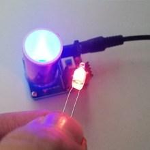 BD243 Mini Tesla Coil Kit Magic Props DIY Spare Parts Lighting Lights Technology Electronic