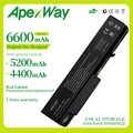 Apexway ноутбук Батарея для hp EliteBook 6930p 8440p 8440 Вт Probook 6440b 6445b 6450b 6540b 6545b 6550b 6555b 482962-001 аккумулятор большой емкости