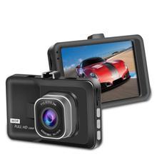 """Macchina Fotografica Auto Registratore Dellautomobile DVR Dashcam Full HD 1080P 3 """"Car Dash Cam Videocamera per Auto Con Rilevazione di Movimento di Visione vision G Sensore"""