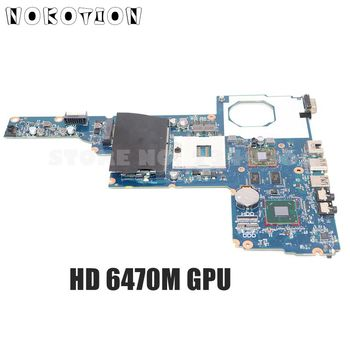 NOKOTION 694693-001 685108-001 MAIN BOARD For HP 1000 Compaq CQ45 Laptop Motherboard DDR3 HD6470M Video Card