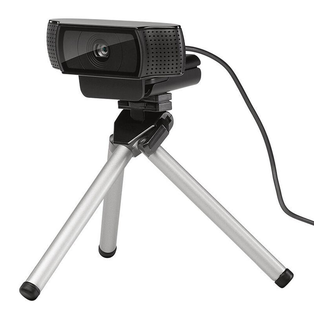 Logitech Webcam Tripod Extendable Aluminum Alloy Camera Tripod Gorillapod For Logitech C930e C920 C920 Pro C925e Cameras