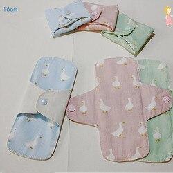 2 шт/лот 160 мм женские гигиенические прокладки многоразовые подгузники для взрослых гигиенические прокладки мягкие моющиеся трусики матери...