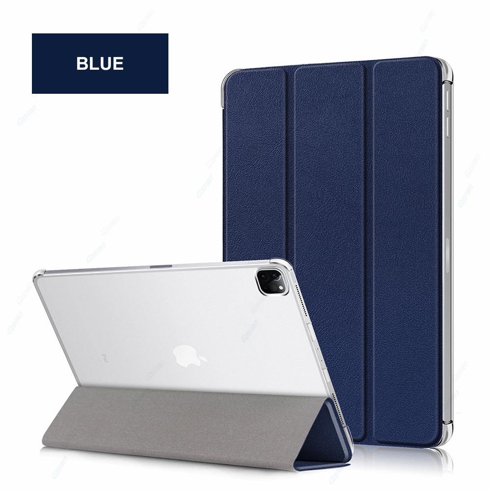 Blue Blue GZERMA Case For iPad Pro 12 9 2020 Smart Case Auto Wake Sleep Folio Cover For