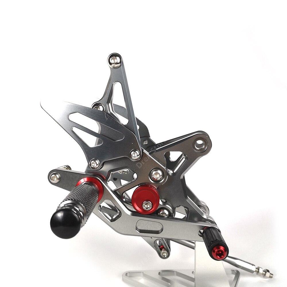 Купить zx6r zx 6r педаль мотоцикла ремонт подножки подножки регулируемая